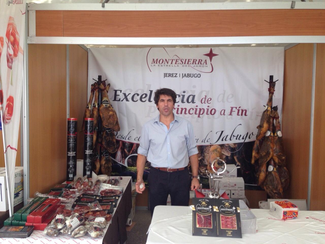 Montesierra - Segunda Feria del jamón y productos ibéricos de cerdo ibérico de cebo
