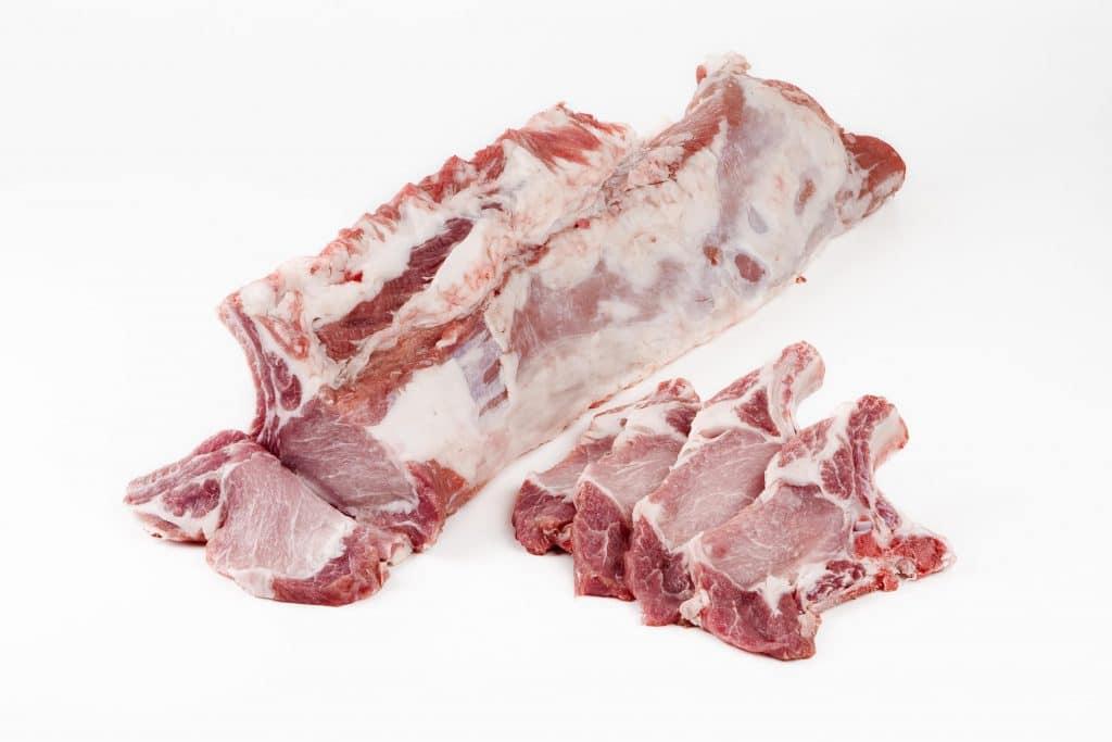 Chuletas de cerdo ibérico Montesierra