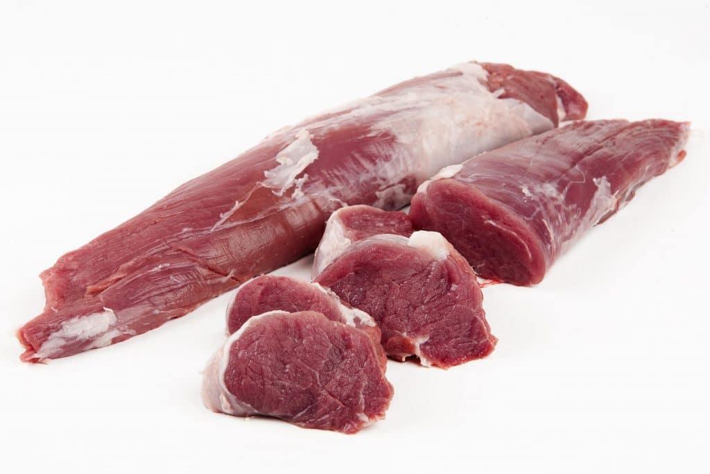 Carne de solomillo ibérico