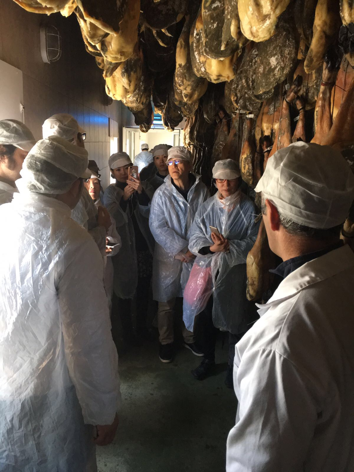 Visita instalaciones Montesierra Jabugo