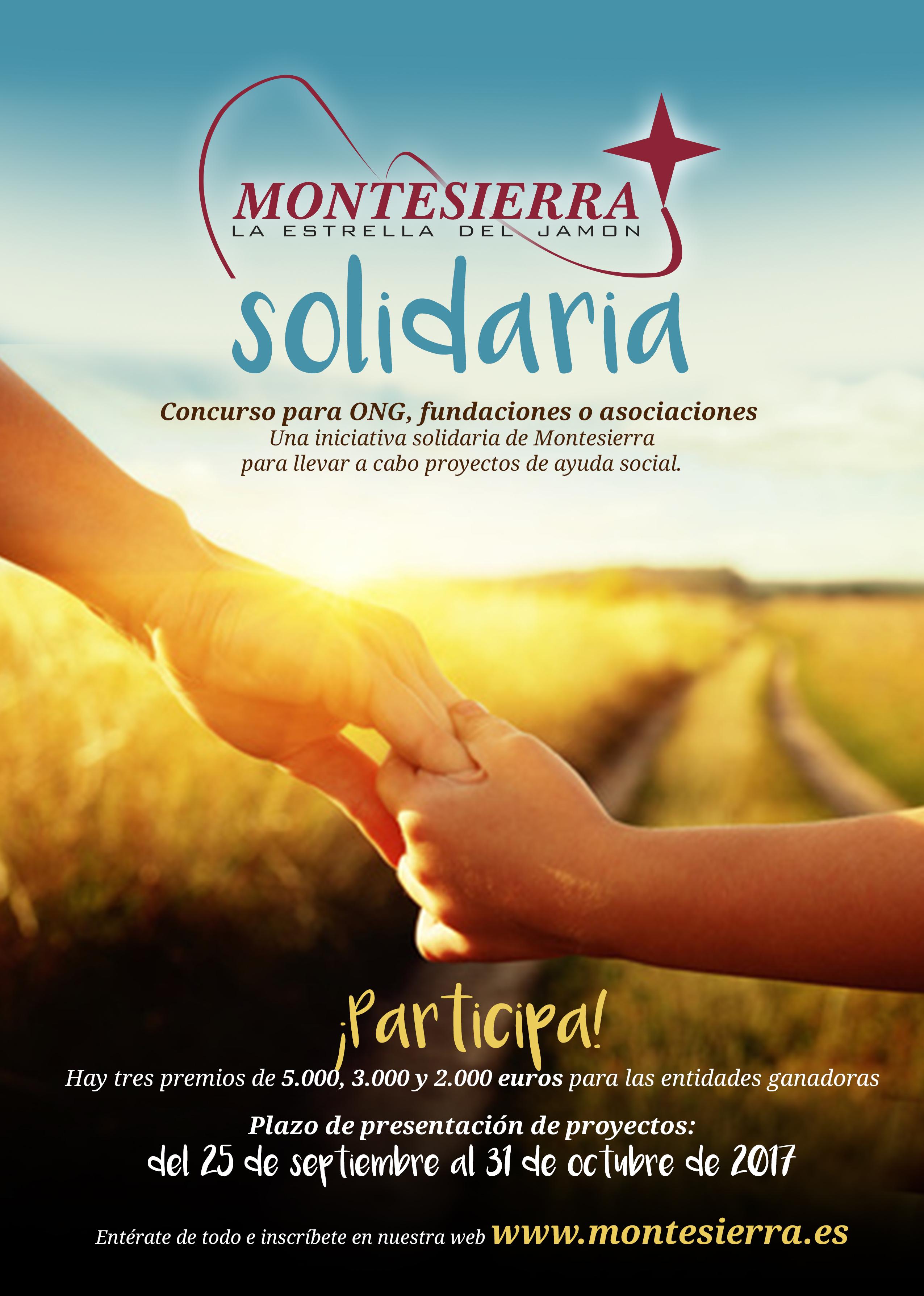 Concurso Asociaciones y Fundaciones Montesierra Solidaria