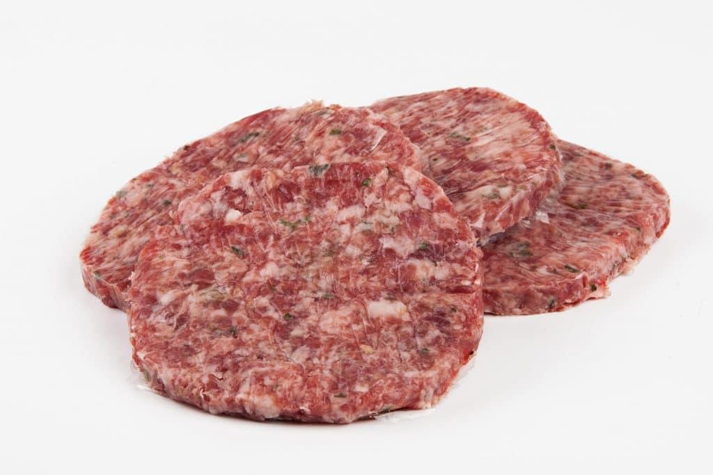 hamburguesa ibérica para barbacoa